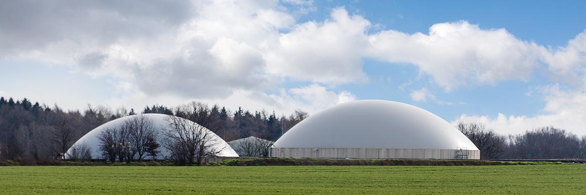 Biogas är en vanlig typ av bränsle idag.