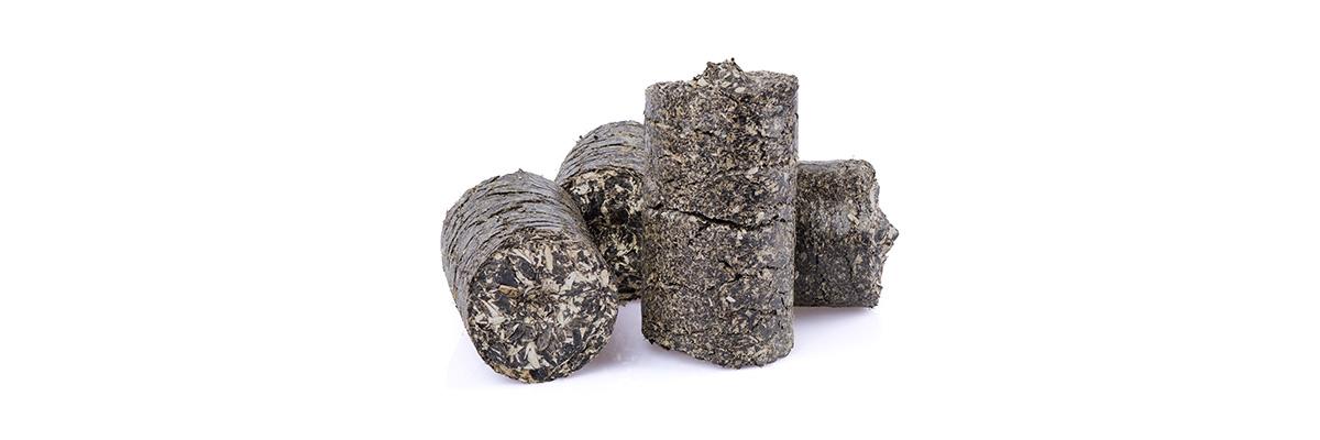 Pellets är en bra typ av biobränsle